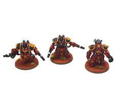 BLOOD ANGELS 3 centurion Devastator Squad #1 PRO PAINTED Warhammer 40K marines