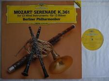 BERLIN PHILHARMONIC PLAYS MOZART SERENADE K.361 DG 2532 089 DIGITAL