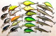 Fishing Crankbait Poes Dance Manns Rapala Cultiva Big O Fish Bass Excalibur Shad