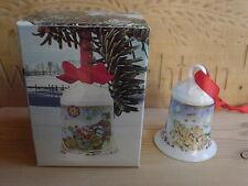 Hutschenreuther Weihnachtsglocke 91 WINTHER Nordpol 90er J Weihnachten NICHT OVP