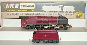 Wrenn W2226 City of London 4-6-2 Locomotive & Tender Used Boxed Runs Fire Glow