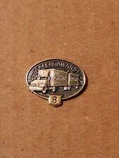 Roadway Safe Driver  8 Year Safety Award Pin Trucking 18 wheeler