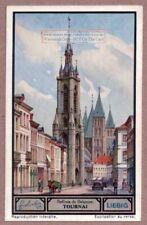 Tournai Belgium Belfry Church Bell Beffrois 1930s Trade Ad Card