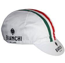 Bianchi Milano Italy Nalini Cycle Cycling Cap White Red Green Genuine Original