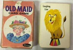 Original Old Maid Card Game with Box