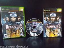 RAINBOW SIX 3 - Jeu XBOX Complet avec Notice - Tom Clancy's