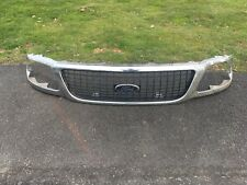 FORD F150 FRONT GRILLE GRILL 99 00 1999 2000 With Emblem