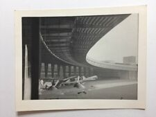Vintage BW Real Photograph #AH: Airport