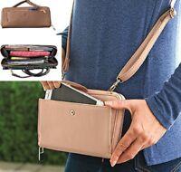 RFID Purse Wallet Karla Hanson Adjustable Strap advanced RFID Technology NEW