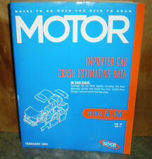Motor Crash Estimating Guide - Imported Car EURO A-M - Feb 2004   VOL.32 NO.2