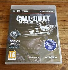 CALL OF DUTY GHOSTS Édition Limitée Jeu Sony Playstation 3 PS3 Neuf Blister VF