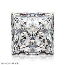 1.02ct D-SI2 Ideal Pol. Princess Cut AGI 100% Genuine Diamond 5.43x5.38x4.18mm
