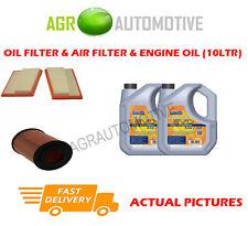 Diesel Filtro De Aire De Aceite + ll aceite 5W30 para Mercedes-Benz ML300 3.0 190 BHP 2009-11