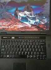 """Dell Vostro 1510,15"""" Core 2 Duo T5670, 1.8GHz, 4GB, 240GB SSD, Win 10"""