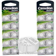 """20x Camelion Knopfzellen Alkaline AG7 LR57 LR926 395"