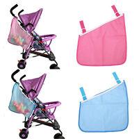 Infant Cart Pram Stroller Mesh Hanging Bag Pushchair Storage Net Stroller FO