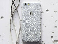 Mandala iPhone XS XR Silicone Cover Boho Style Case For iPhone 6s 7 8 Plus Snap