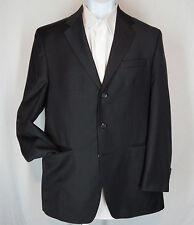 Men's Size 40 L  Ralph By Ralph Lauren Charcoal Gray Wool Three Button Blazer