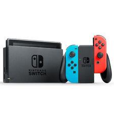 NINTENDO SWITCH Rot/Blau Spielkonsole  (neues Modell)