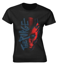 Within Temptation 'Purge Red Face' (Black) Womens Fitted T-Shirt - NEW