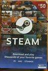$50 Steam Gift Cards - FREE SHIPPING!! 🔥🔥 For Sale