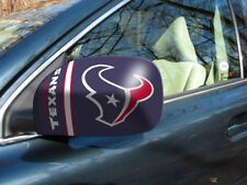 Licensed Nfl Houston Texans Car Mirror Covers (2-Pack) - Cars/Small Suv's
