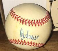 Rey Ordonez Signed Autograph ONL Baseball! W/ COA!