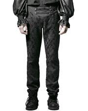 Pantalones de hombre en color principal negro 100% algodón