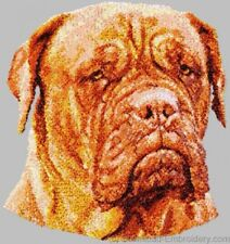 Embroidered Long-Sleeved T-Shirt - Dogue de Bordeaux Dle1523 Sizes S - Xxl