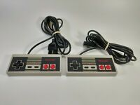 Nintendo NES Controller Lot of 2 OEM Tested