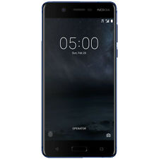 NOKIA 5 Dual-Sim, Smartphone, 16 GB, 5.2 Zoll, Temperiertes Blau, Dual SIM