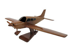 PA-28 Piper Cherokee Mahogany Wood Wooden Private Pilot Aviation Airplane Model