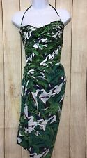 LENNY NIEMEYER ONE PIECE SWIMSUIT and TROPICAL COVERUP WRAP NWOT SIZE L