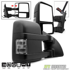 L+R 1999-2007 Ford F250/F350/F450 SuperDuty Power+Heated+SMOKE Signal Tow Mirror