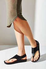 NEW AUTHENTIC Urban Outfitters Silence + Noise Stephanie Flatform Sandal Size  7