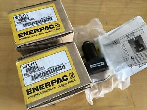 (2) Enerpac WFL-111 Lower Flange Hydraulic Advance Work Support Cyl