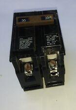 Siemens 20 Amp 2-Pole Circuit Breaker - Type HACR- 120/240 Volt