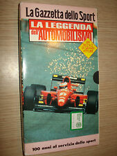 VHS The Legend of The ´Motoring A Century By Great Kit New F1 1897-1996