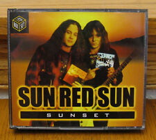 "SUN RED SUN ""Sunset"" 3 CD box set OOP (2000) Ray Gillen Badlands Black Sabbath"