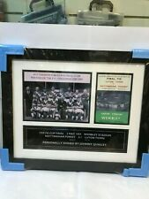 More details for johnny quigly, nottingham forest legend, personally signed, football memorabilia