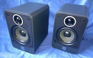 Q Acoustics 2010i Graphite Speakers Pair - Excellent condition