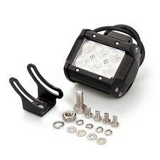 2x NEW 18W CREE LED WORK BAR LIGHT 12v 24v 4WD ATV SUV OFFROAD LAMP FLOOD BEAM