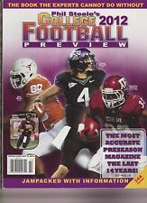 PHIL STEELE'S COLLEGE FOOTBALL 2012 PREVIEW.