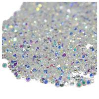 2X( 1440Pcs Micro Diamond DIY Nails Rhinestones Crystal Flat Back Non Hotfix  TD