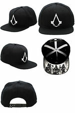 Assassins Creed Syndicate Black Snapback Snapback Video Game Hat