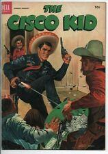 Dell Comics The Cisco Kid Jan. 1953 10c cover price Western Comic VF