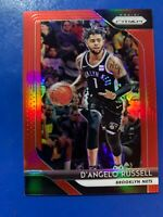 2018-19 Panini Prizm D'angelo Russell Red Prizm Refractor /299