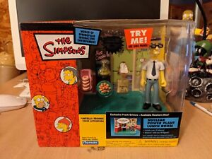 Simpsons WOS interactive set playmates power plant lunch room frank grimes
