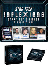 Star Trek Inflexions Starfleet's Finest Factory Sealed Hobby Box & Album/Binder