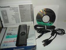 Registratore vocale digitale Panasonic RR-US470 con 134 ore di registrazione